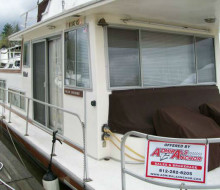 GIBSON 37 HOUSEBOAT houseboat trader 1