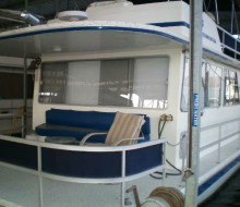1985 GIBSON 50 houseboat trader 1