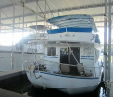 1986 LAZY DAYS 60 FT ALUMINUM HOUSEBOAT 1